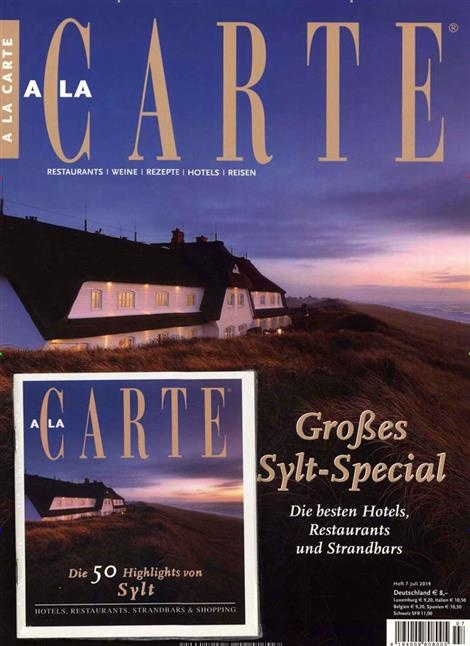 A LA CARTE Magazin